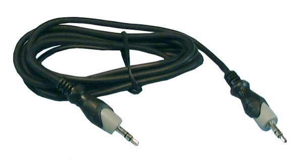 Audio Cable, Patch Cords, 3.5mm Stereo Male to 3.5mm Stereo Male, 3ft, 44-005 Philmore