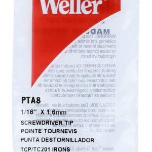 Solder Tip, Screwdriver, 1/16″  PTA8