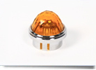 Amber Convex PMI Cap Transparent  031-0433-300