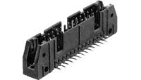 10 Pin Universal Header R/A, Dual Row, Gold Flash  102159-1