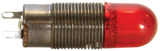 Red cylindrical PMI Cap   162-1431