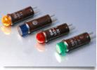Panel Mount Indicator, Incandescent Cartridge, Green   507-3911-1432-600