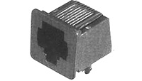 Modular Jack, RJ14 6 Position, PC Mount  520242-2