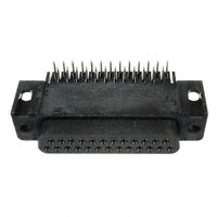 DB25 Female DSub Connector, Right Angle,PC Mount  206584-2
