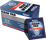 Clean Pad Presaturated Wipe, 50/box        824P-50