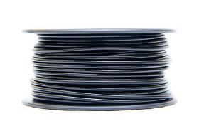 3D PRINTER FILAMENT ABS 1.75MM DIA., .  1 KG SPOOL, BLACK    ABS17BK1