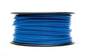 3D PRINTER FILAMENT PLA, 1.75MM DIA.,  1 KG SPOOL, BLUE     PLA17BL1