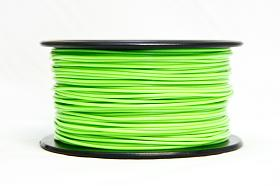 3D PRINTER FILAMENT PLA, 1.75MM DIA., 1 KG SPOOL, GLOW IN THE DARK(GREEN)  PLA17GD1