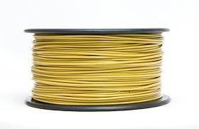 3D PRINTER FILAMENT ABS, 3MM DIA., 0.5KG SPOOL, GOLD    ABS30GO5