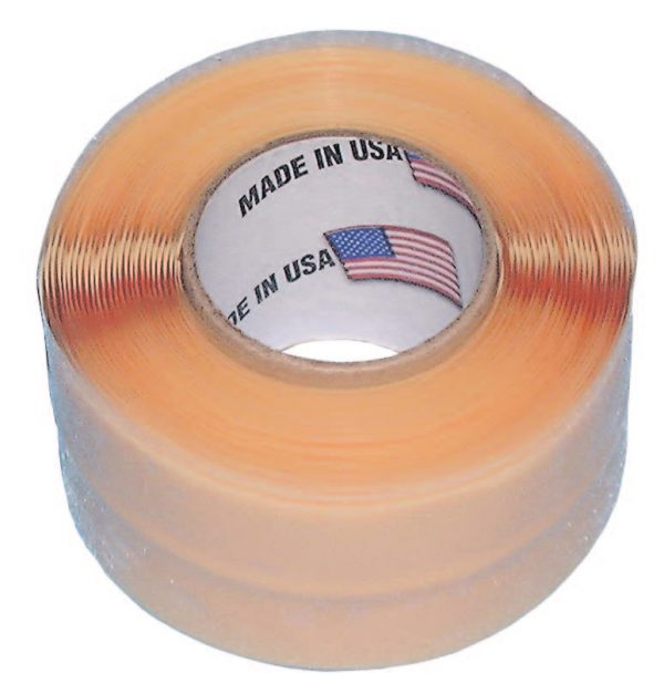 "Seals/Insulates Tape, 1"" wide, 10ft Roll, Black   12-3402"