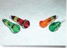 LED Panel Mount Indicator, 8mm, Green    608-2232-220