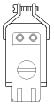 Cable Mount Plug, 8 Position, 10a   38331-5808