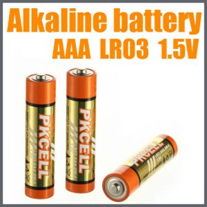 AAA Alkaline Battery, 4/Card LR03-4B
