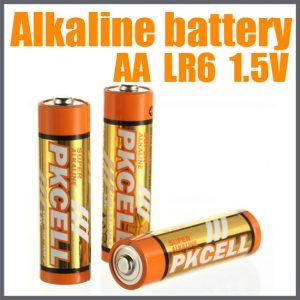 AA Alkaline Battery  2/pk          LR6