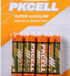 AA Alkaline Battery, 4/Card    LR6-4B