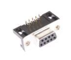 DB9 Female, R/A with 4-40 Locking ScrewSet   TEDE09SBD