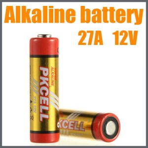 12v Alkaline Battery, 5/Card  27A, battery, batteries