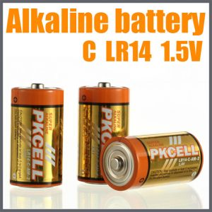 C Alkaline Battery, 2/Card    LR14-2
