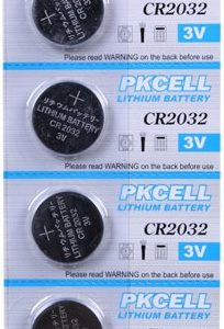 3v Lithium Coin Cell Battery,   CR2032 PKCell 5 pack