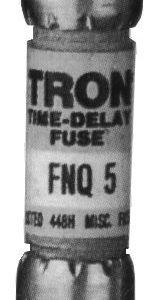 1/8A 500V Tron Time-Delay Fuse, Midget   FNQ-1/8
