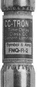 1A 600Vac CC-Tron Time Delay Fuse   FNQ-R-1