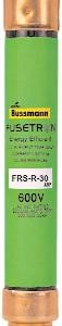 2-1/2a 600v Fusetron Dual Element Fuse, Time Delay     FRS-R-2-1/2