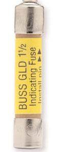 1a 125v 3AG Pin-Indicating Fast-Acting Fuse    GBA-1