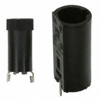 Fuse Holder, PC Vertical Mount for 5 x 20mm Fuse    HTC-45M