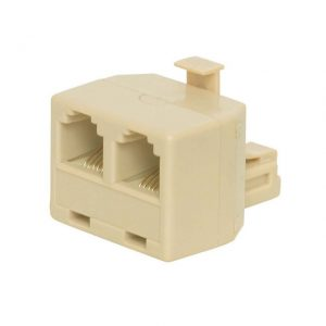 Duplex Telephone Adapter, 4P4C    NTC-2421