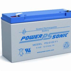 6v 12aH Sealed Lead Acid Battery   PS-6120F2
