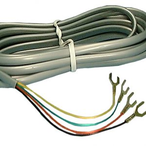 Modular Cord w/Spaded Ends ,25ft      PT-404-25