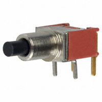 Pushbutton Switch, SPST Off-Mom., R/A   TP11SH8ABE