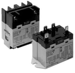 Power Relay, SPST-NO, 24vdc, Quick Connect   G7L-1A-TUBJ-CB-DC24