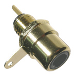 Gold Plated RCA Jack      2/pkg   24-181-2
