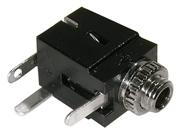 2.5mm PC Mount Mono Jack,  2/pkg      24-285-2