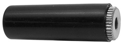 3.5mm Mono Jack, Black, 35mm, 2/pkg   24-351-2