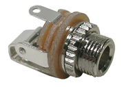 3.5mm Jack, Mono Chassis, Closed Circuit, 4/pkg      34-381-4