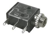 3.5mm Jack, Mono Chassis, PC Mount, 2/pkg    24-383-2