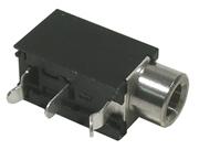 3.5mm Jack, Mono Closed Circuit, PC Mount,  2/pkg    24-386-0