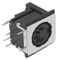 Shielded PC Mount DIN Jack, 5 Position    25-358-0