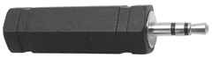 1/4″ Stereo Jack to 3.5mm Stereo Plug         27-533-0