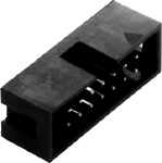 10 Position PC Box connector,  .100″    35-510-0