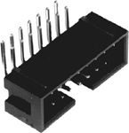 14 pos R/A PC Box connector     35-614-0