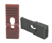 Long Handle Shunt,  Black 100/pkg      36-101-0