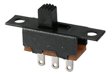 Slide Switch, SPDT,  .3a   46-001-0
