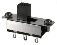 Slide Switch, DPDT, 1a, On-Off-On         46-011-0