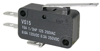 Micro Switch, 27.5mm Actuator, 15a, Packaged    47-402-1
