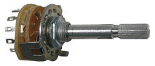 Rotary Switch, .3A, 1 pole 12 position       48-511-0