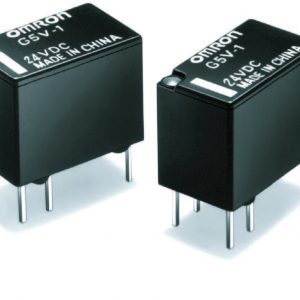 Low Signal Relay, SPDT 12v, Non-Latching   G5V-1-DC