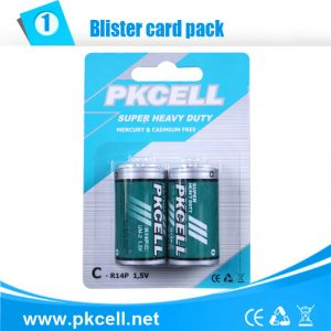 C Battery, Super Heavy Duty  2/Card    R14P-2